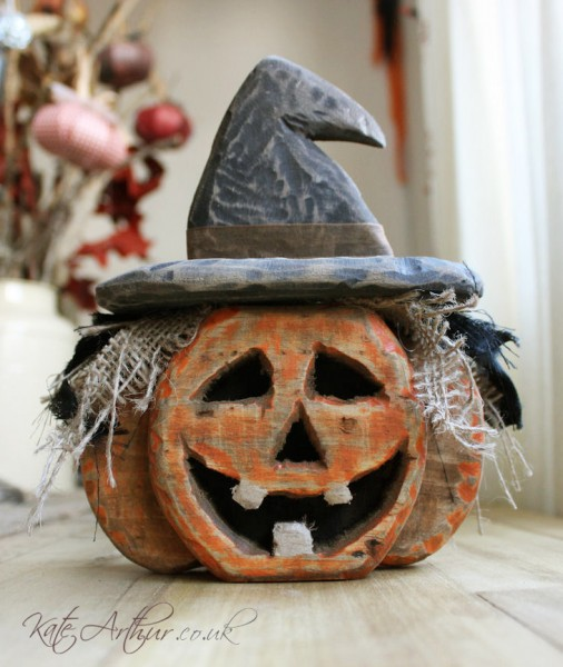 Wooden Pallet Pumpkin Halloween Decorations Kate Arthur