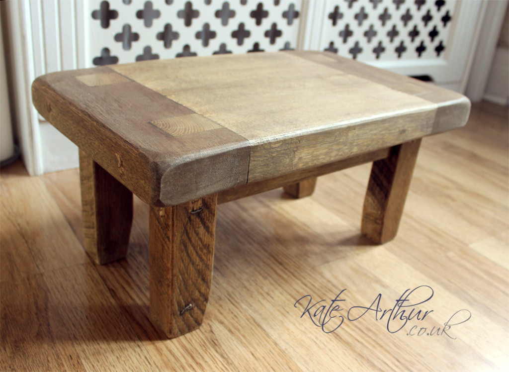 Reclaimed Wooden Stool 02