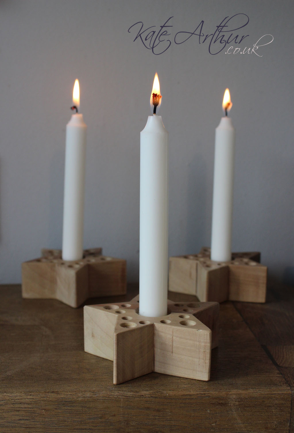 Christmas candle stick holders for Christmas candle displays