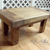 Reclaimed Wood Stool 2014