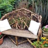 Garden bench 2010