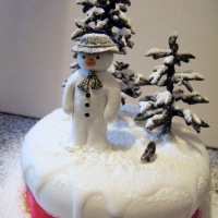 The Snowman - Christmas Cake Topper 2010
