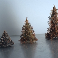 Wire Christmas Trees 2008
