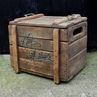Reclaimed Wooden Crate 2014