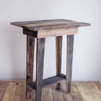 Pallet Wood Side Table 2013