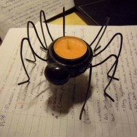 Spider - Tealight Holder 2010