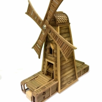 McCain's Chip Testing Windmill - Pine, Oak, Walnut - 2011